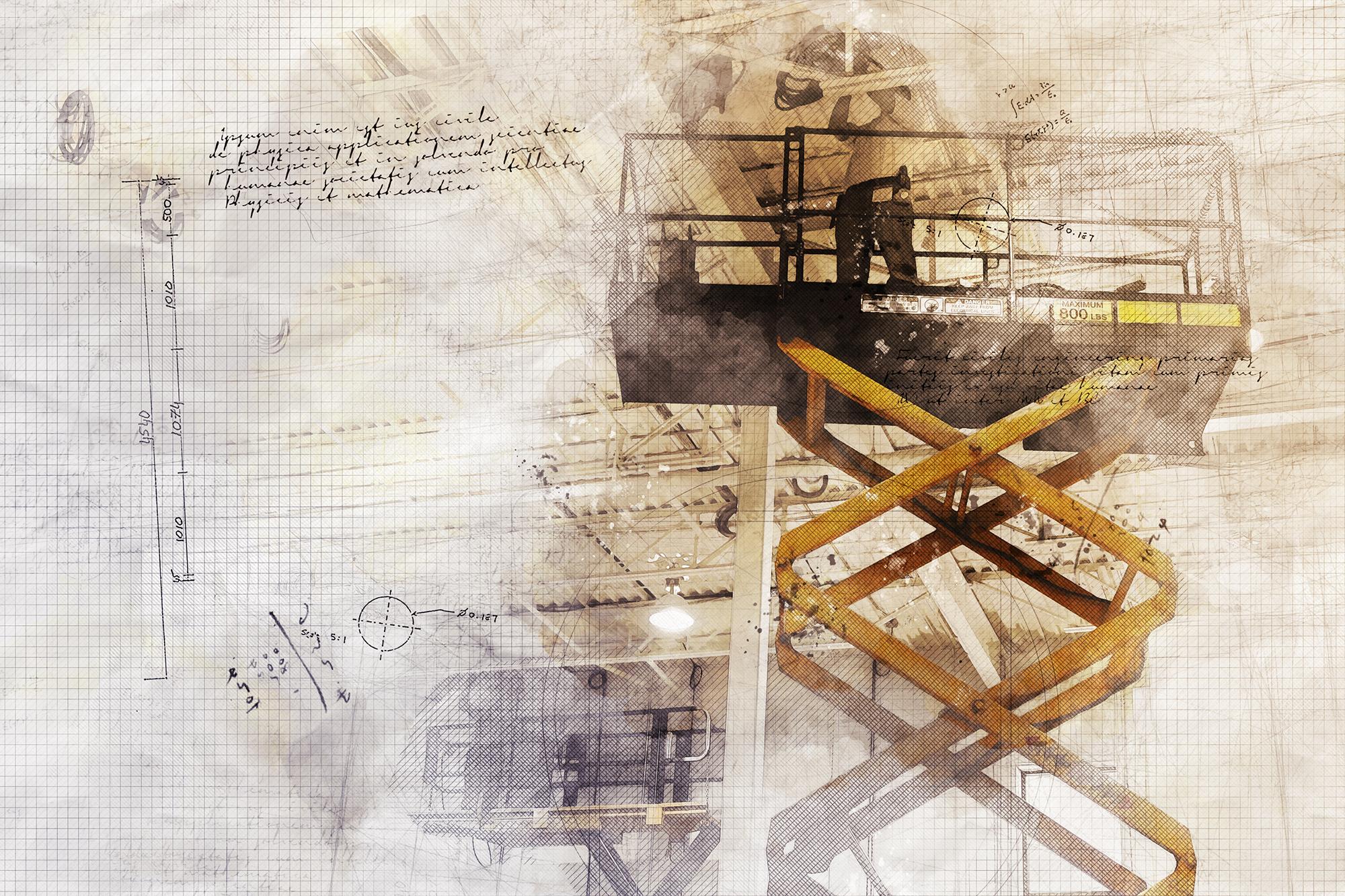 Concept Photo de Projet de maintenance