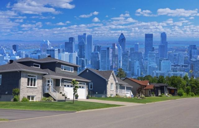 Concept étalement urbain