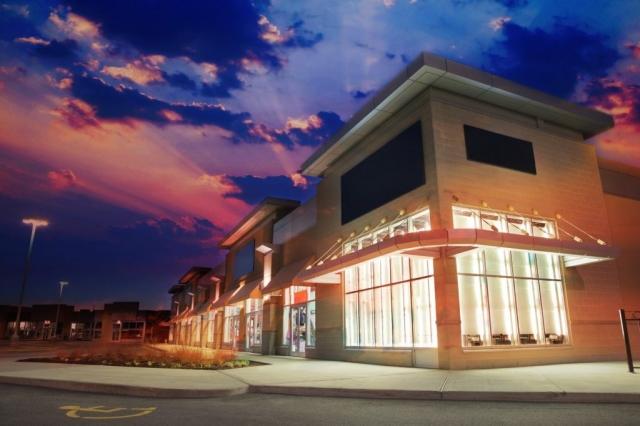 Montage photo de magasins
