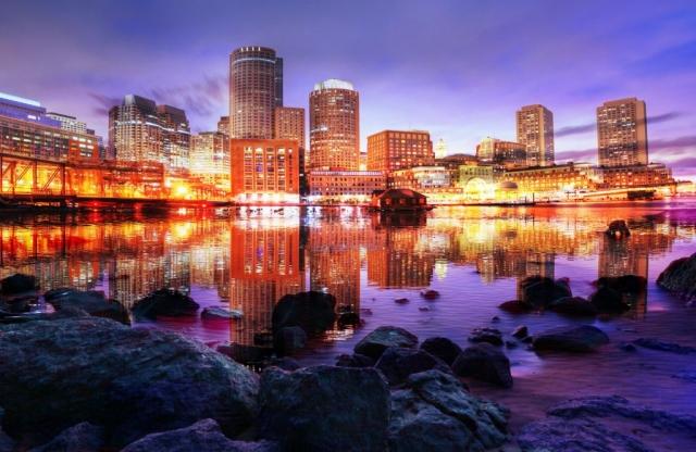 Beautiful Boston City