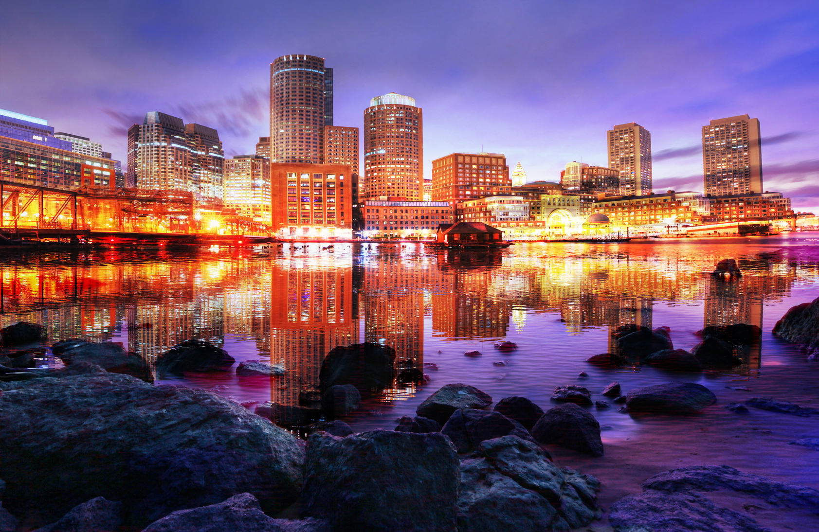 Beautiful Boston City