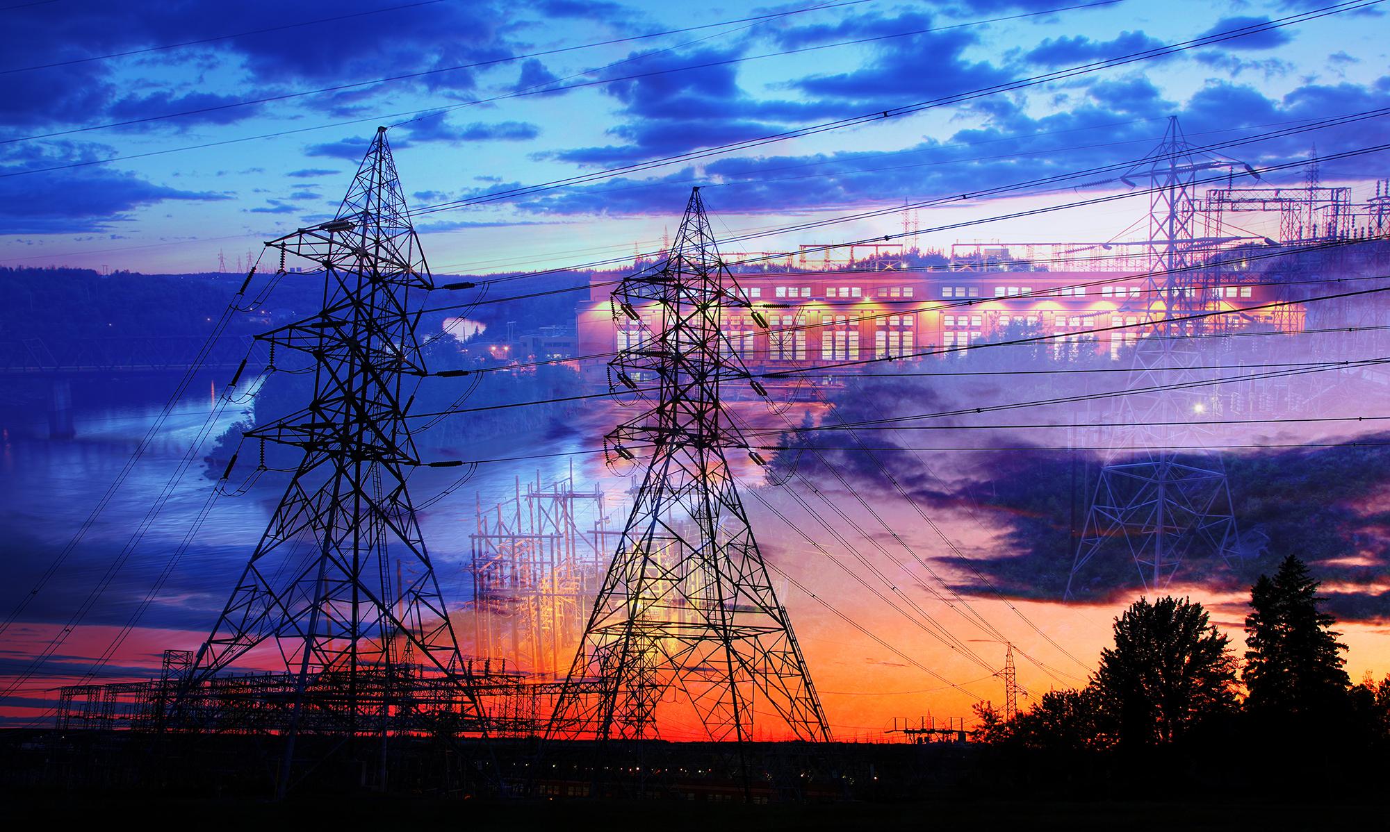 Montage Photo de Concept Electrique