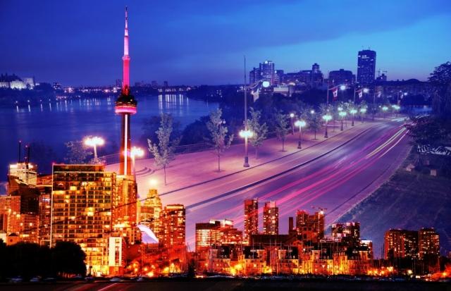 Urban Toronto Street