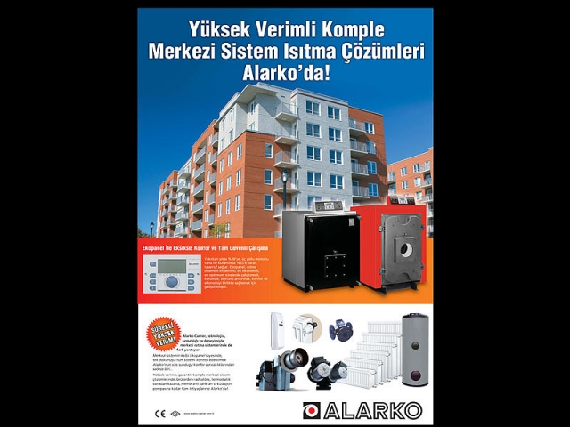 Image de Condo sur publicité de Alarko