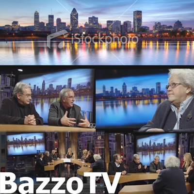 Image d'emission de Bazzo TV