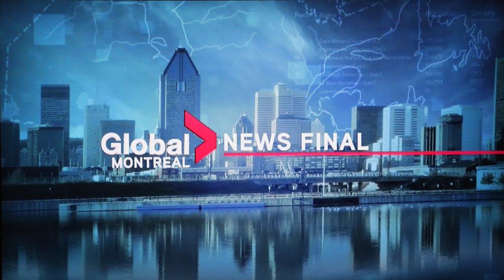 Image de Montréal sur Global Montreal News