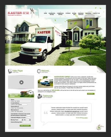 Image de truck de déménagement sur Kaster Moving Co.