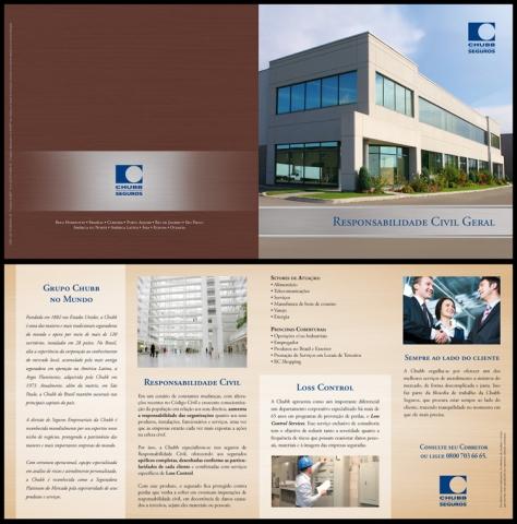 Image de building sur pamphlet de CHUBB