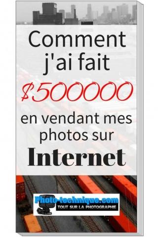 Comment jai fait un demi-million en vendant mes photos sur internet.