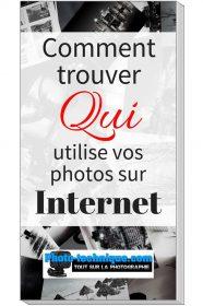Comment trouver qui utilise vos photos